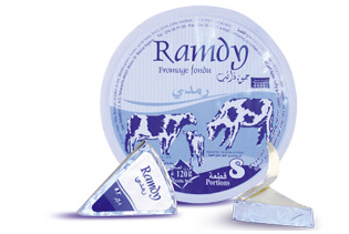 ramdy fromage fondu portion